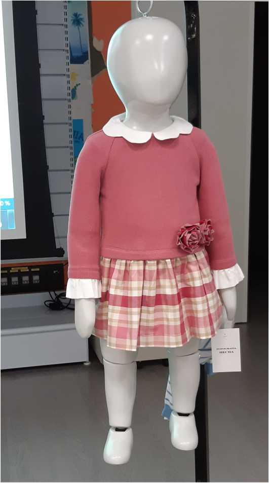 Modelo ropa muestrario